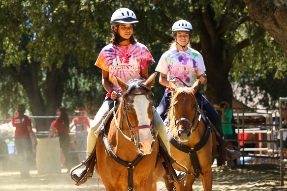 Girls Riding at Friday Horse Show